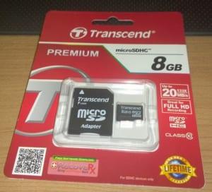 Transcend microSD
