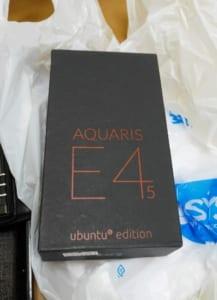 bp AQUARIS E4.5 パッケージ