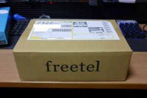Freetel Simple 梱包